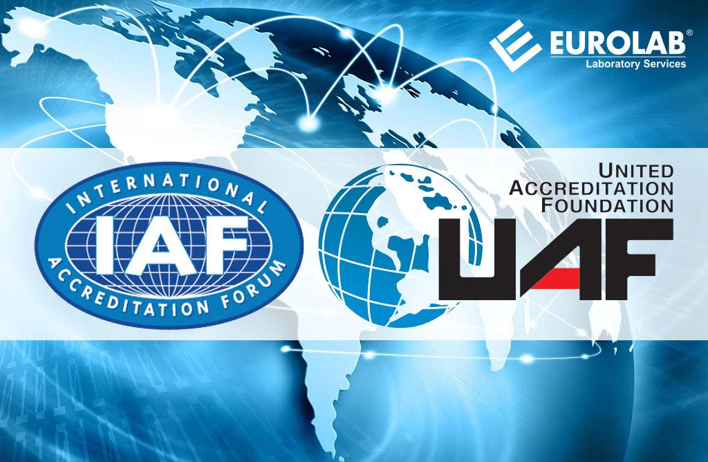 Chứng nhận của IAF và UAF